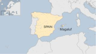 Map of Magaluf