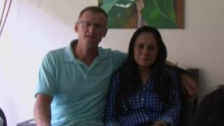 Richard Cushworth and his wife Mercedes Casanella