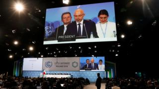 COP24 President Michal Kurtyka speaks during a final session of the COP24 U.N. Climate Change Conference 2018 in Katowice, Polan