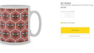 'Wasp' mug Selfridges
