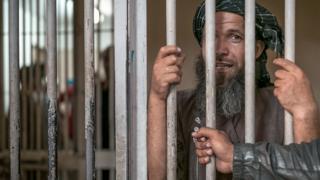 Prisionero de la cárcel.