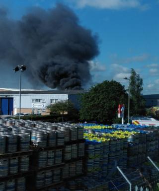 Abingdon fire