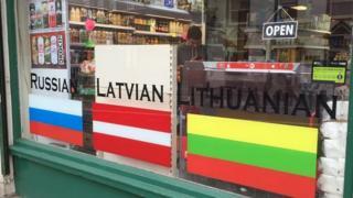 East European Grocery Store in Nottingham