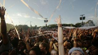 Crowds at Wireless Festival