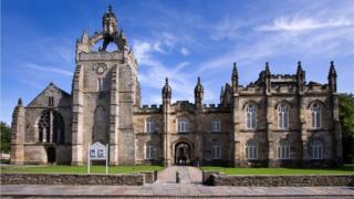 University of Aberdeen King's College Chapel Building