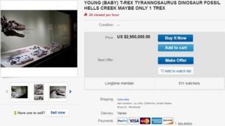 Captura pantalla eBay.