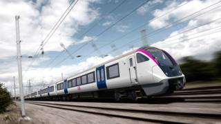 Bombardier c2c Aventra trains