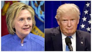 Clinton e Trump