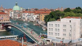 Puente de Calatrava en Venecia