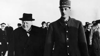 Черчилль та Де Голль