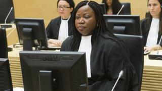 အိုင်စီစီက အမှုလိုက် အရာရှိ Fatou Bensouda