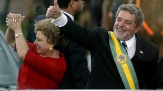 Lula ya lashe zabe a shekarar 2003 da 2006