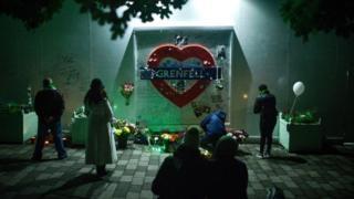 People at overnight vigil