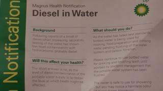 Diesel notice