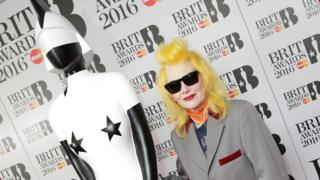 Pam Hogg and Brits statue