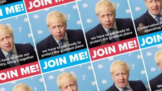 Boris Johnson ads on Facebook
