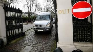 Співробітників російського посольства в Лондоні