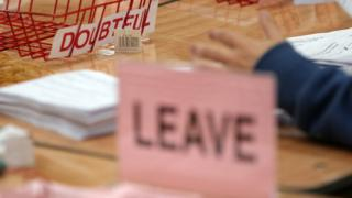 Leave wins the referendum and the UK will quit the European Union