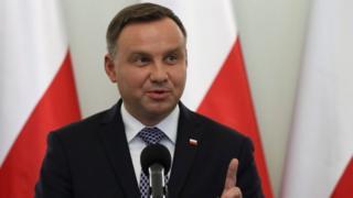 Andrzej Duda, 25 September 2017