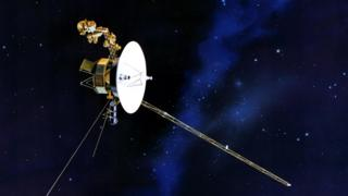 Ilustración de una nave Voyager