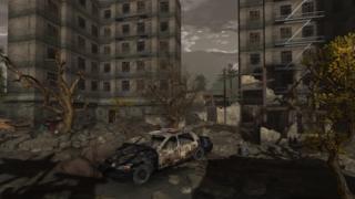 Gambaran dunia pascakiamat dalam video game.
