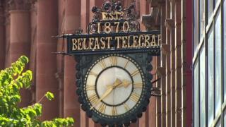 Belfast Telegraph clock