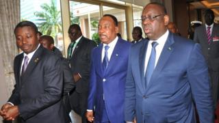cedeao, sommet d'accra, election du président togolais
