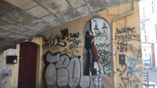 Двір у центрі Праги