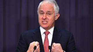 Australia Prime Minister Malcolm Turnbull