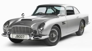 James Bond's gadget-packed Aston Martin DB5
