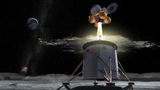 Nasa picks headquarters for Moon lander