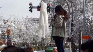 دختران معترض به حجاب