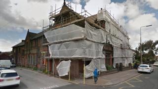 Former probation centre in Derby Lane, Old Swan
