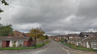 Wood Street in Longton