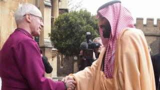 Archbishop of Canterbury meets Crown Prince of Saudi Arabia