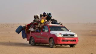 Niger migrant