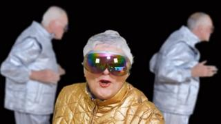 Pensioners do Shake It Off