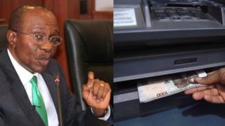 Onyeisi 'CBN' na igwe a ji adọrọ ego bụ 'ATM'