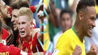 Brazil iyo Belgium waxay u gudbeen Rubuc dhamaadka
