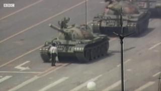 'Người chặn xe tăng': Hình ảnh Trung Quốc lãng quên