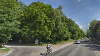 A30 at Hartley Wintney