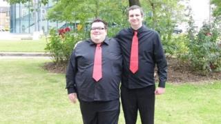 Jonathan (left) and Martin Brown