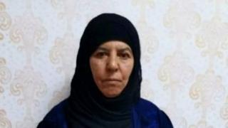 منگل کو ترکی نے البغدادی کی 65 سالہ بہن رسمیہ