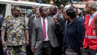 Fred Matiangi waa wasiirka arrimaha gudaha ee Kenya
