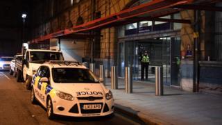 Saldırı Victoria tren istasyonunda yaşandı.