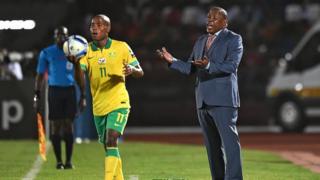 Mashaba était sous pression depuis que l'Afrique du Sud ne s'est pas qualifiée pour la CAN 2017.