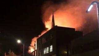 Lochee church fire