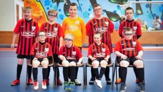 The Oxford Bulls ahead of a Foyle Cup match