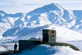 Date created: 01 February, 1989 Afghan Army Post on Road to Kandahar