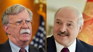 Болтон и Лукашенко